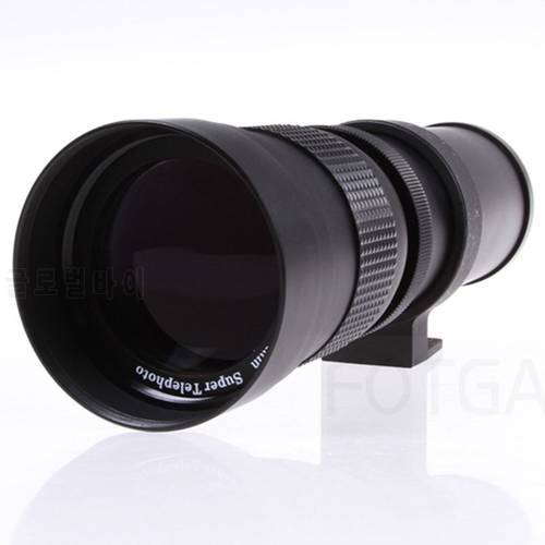 Promotion420-800Mm F/8.3-16 Telephoto Zoom Lens For Canon Pentax Sony Dslr Cameras